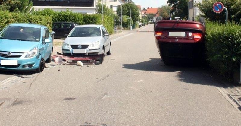 Weil am Rhein, Unfall, © Polizeipräsidium Freiburg