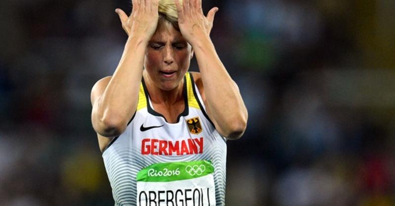 Christina Obergföll, Olympische Spiele, Speerwurf, © Lukas Schulze - dpa