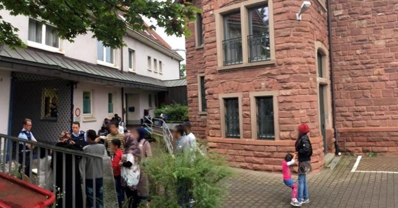 Flüchtlinge, Asyl, Weil am Rhein, Polizeirevier, © Polizeipräsidium Freiburg