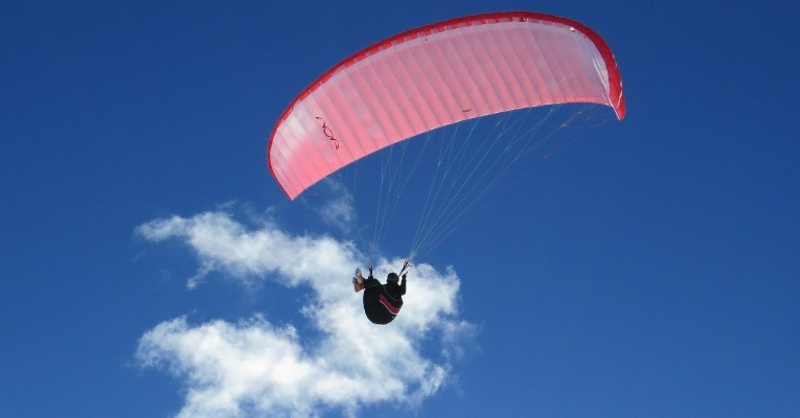 Fallschirmspringen, Gleitschirm, Extremsport, © Pixabay