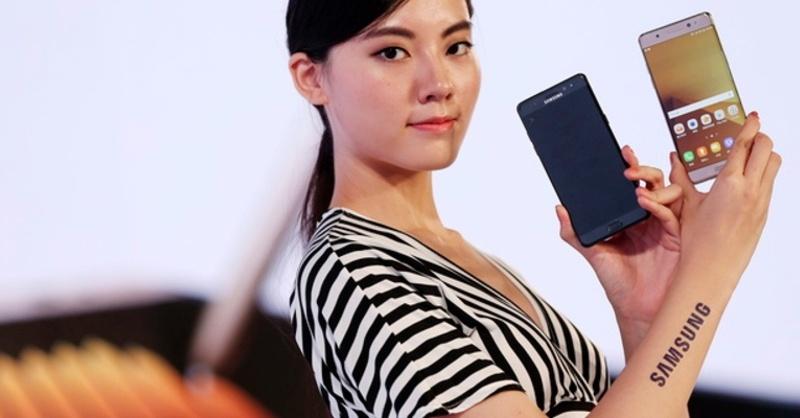 Samsung, Galaxy Note 7, © Ritchie B. Tongo - dpa