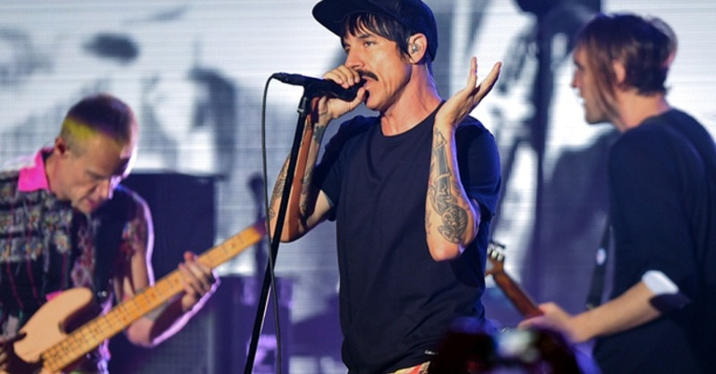 Red Hot Chili Peppers, Anthony Kiedis, Flea, Josh Klinghoffer, © Britta Pedersen - dpa