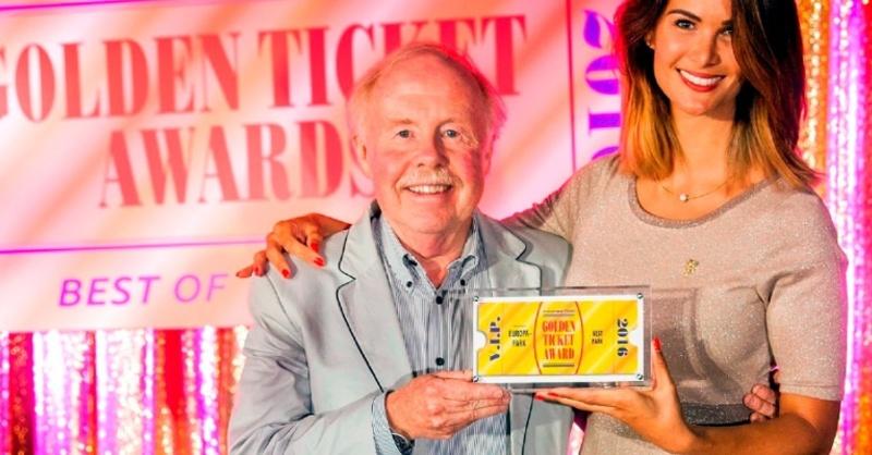 Golden Ticket Award, Europa-Park, © Europa-Park