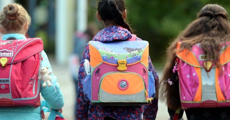 Schule, Schulranzen, Kinder, © Patrick Seeger - dpa
