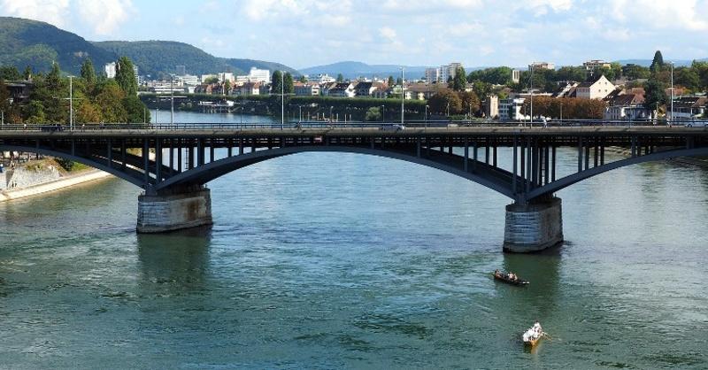 Wettsteinbrücke, Basel, Rhein, © baden.fm