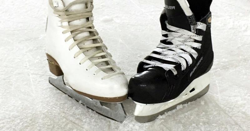 Schlittschuhe, Eislaufen, Publikumslauf, © Pixabay