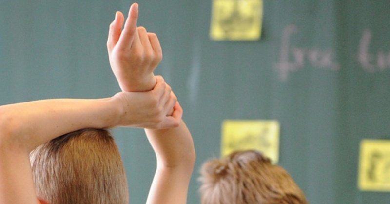 Schule, Schüler, Tafel, Unterricht, © Daniel Bockwoldt - dpa