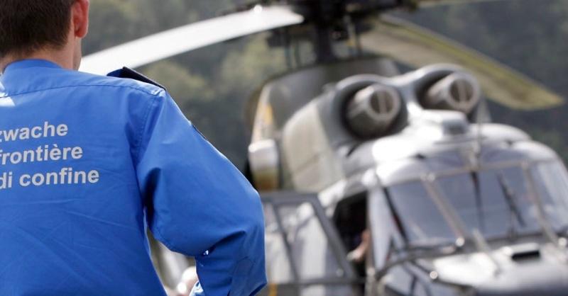 Helikopter, Hubschrauber, Grenzwacht, © Grenzwachtregion Basel