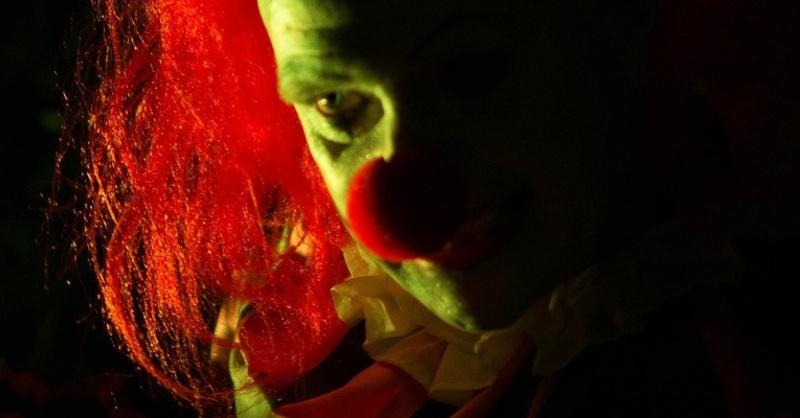 Clown, Maske, Horror, Grusel, © Pixabay