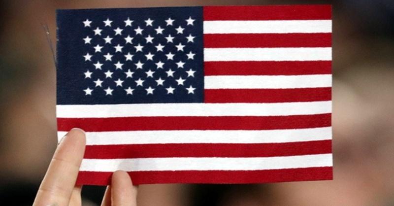 Fahne, Flagge, Amerika, USA, © Justin Lane - dpa