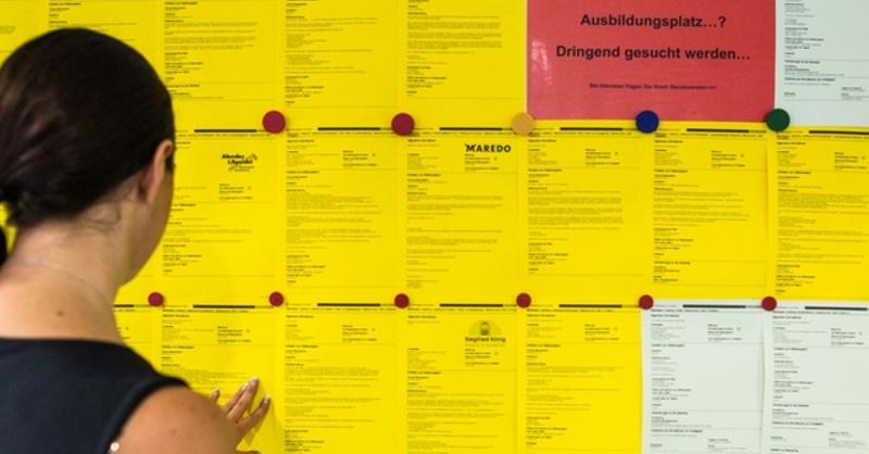 Arbeitsmarkt, Azubi, Ausbildungsplatz, © Christoph Schmidt - dpa