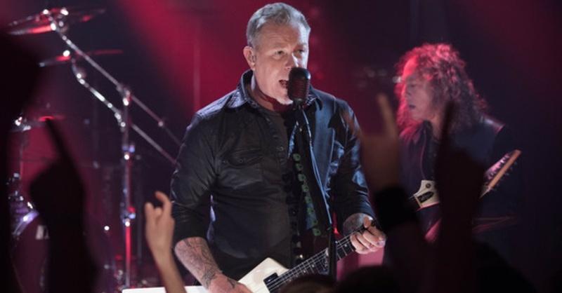 Metallica, James Hetfield, © Jörg Carstensen - dpa