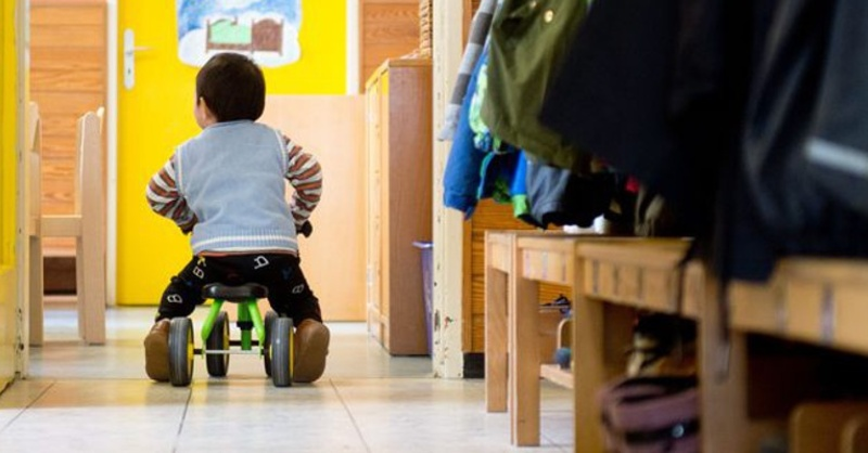 Kita, Kindergarten, Erziehung, Betreuung, © Sebastian Kahnert - dpa