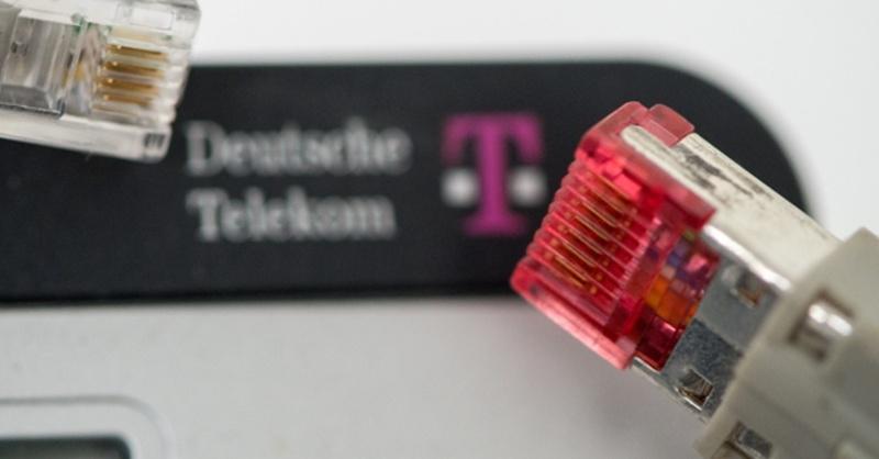 Deutsche Telekom, Router, Netzwerk, © Matthias Balk - dpa