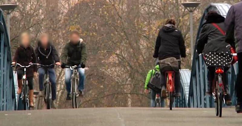 Wiwili, Brücke, Fahrrad, Radfahrer, © baden.fm