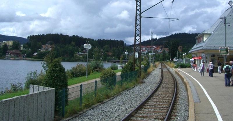Schluchsee, Bahnhof, © Pixabay