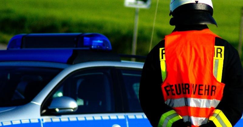 Feuerwehr, Polizei, Unfall, © Pixabay