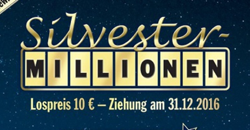 Silvester-Millionen, Lotto, © obs / Lotto Baden-Württemberg