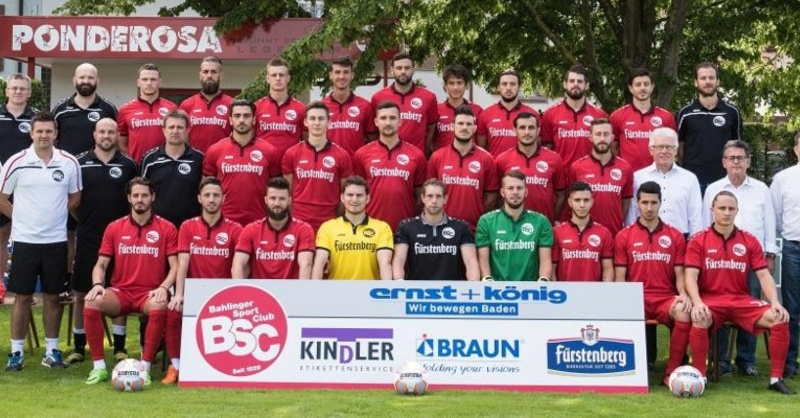 Bahlinger SC, Fußball, Mannschaft, © Patrick Seeger