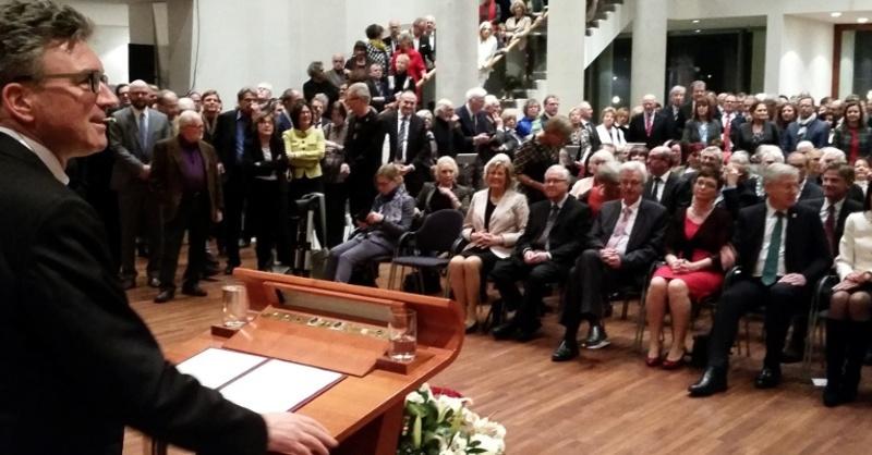 Oberbürgermeister, Freiburg, Dieter Salomon, Neujahrsansprache, © baden.fm