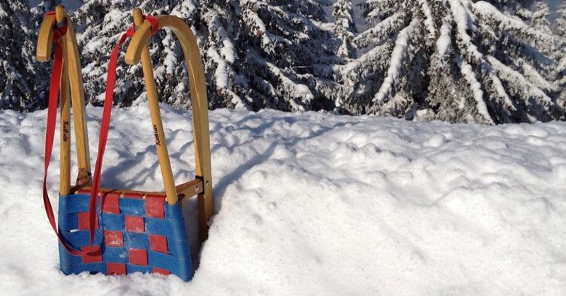 Schlitten, Wintersport, Schnee, © Pixabay