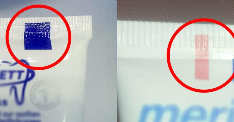 Zahnpasta, Farbige Markierung, Zusammensetzung, , © Pixabay