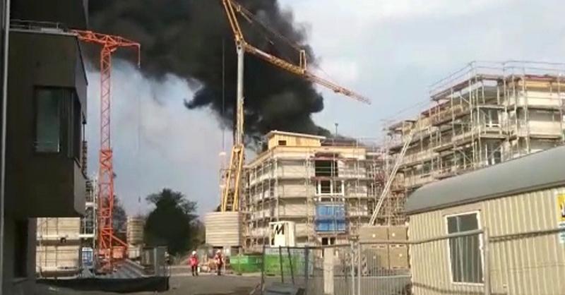 Gutleutmatten, Explosion, Brand, Feuer, © baden.fm