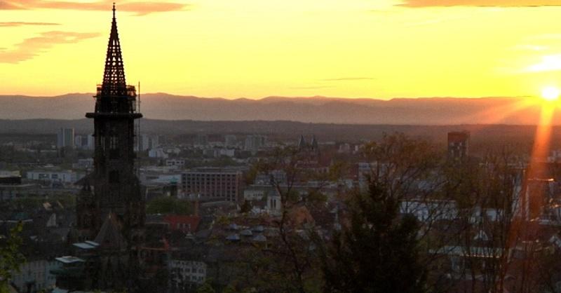 Münster, Freiburg, Sonnenuntergang, © baden.fm