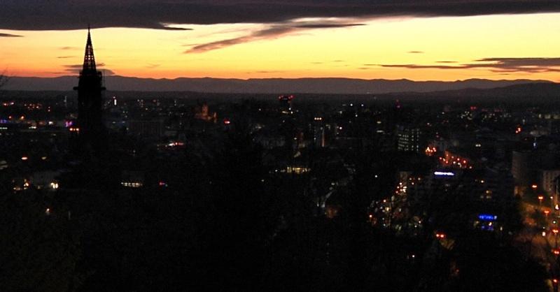 Münster, Sonnenuntergang, Freiburg, Abend, © baden.fm