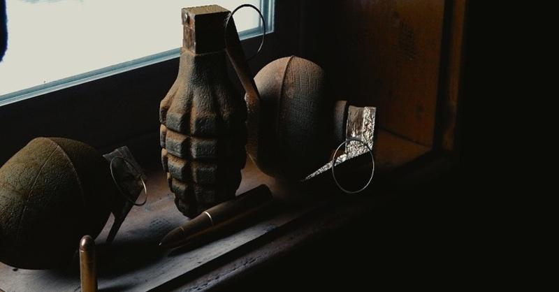 Handgranate, Granate, © Pixabay (Symbolbild)