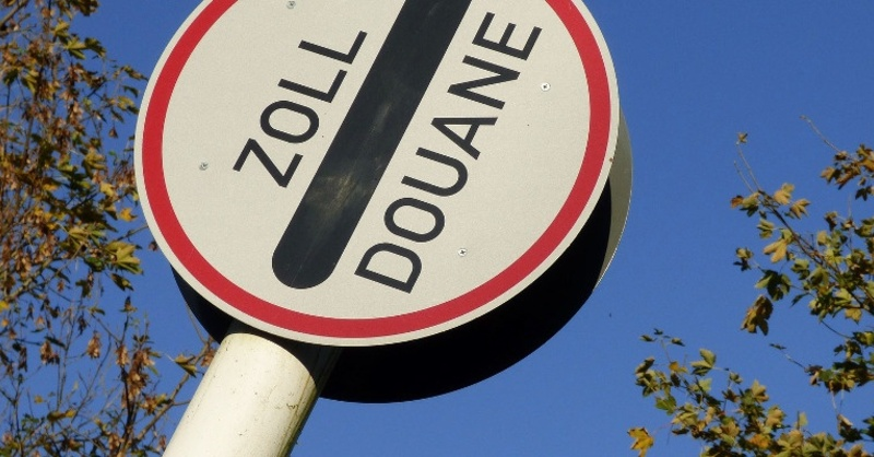Zoll, Grenzübergang, Grenze, © Pixabay (Symbolbild)