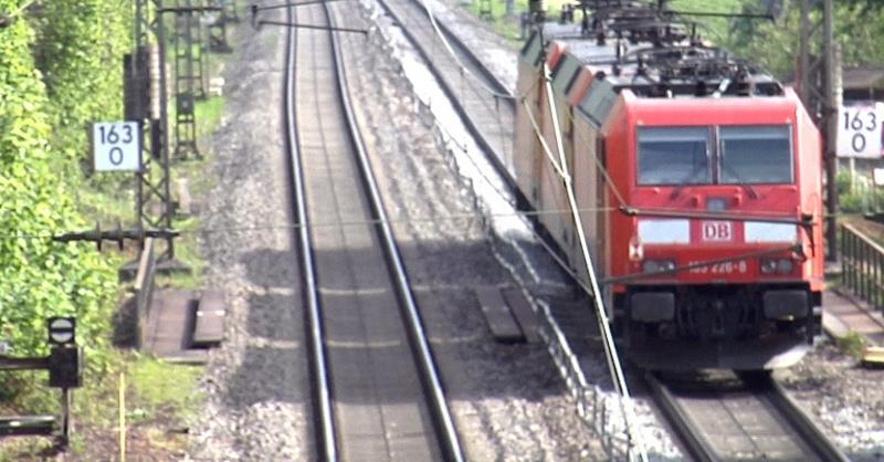 Regionalzug, Rheintalbahn, Gleise, © baden.fm