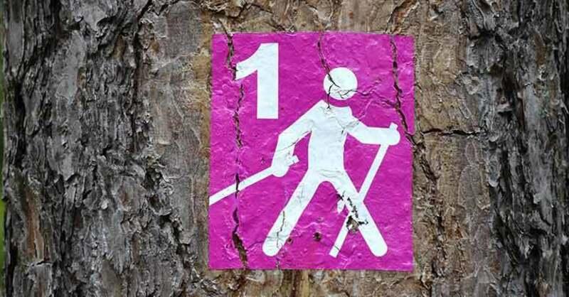 Nordic, Walking, Wandern, Wanderweg, Symbol, © pixabay (Symbolfoto)