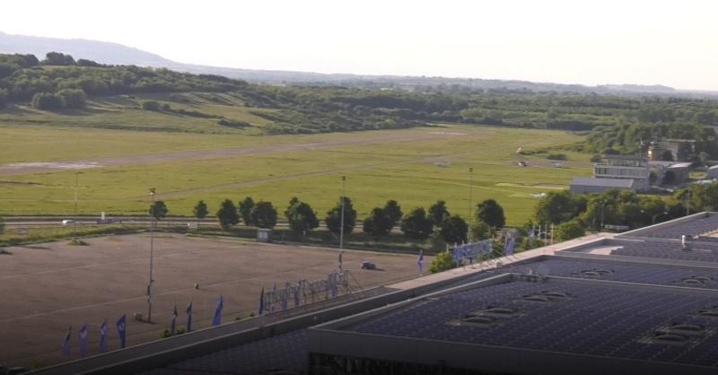 Stadion, Wolfswinkel, SC Freiburg, Stadion, Flugplatz, © baden.fm