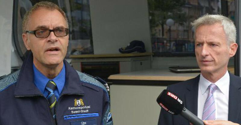 Gerhard Lips, Polizei, Basel-Stadt, Kommandant, © Juri Weiss - Staatskanzlei Basel-Stadt