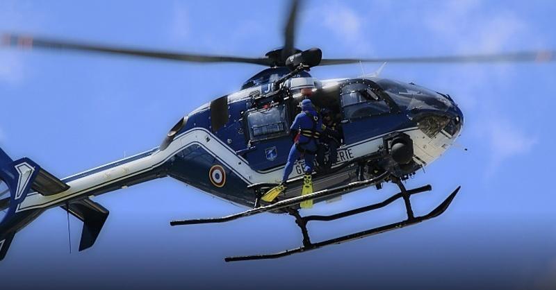 Gendarmerie, Polizeihubschrauber, © Pixabay (Symbolbild)