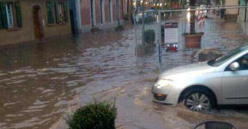 Hochwasser, Unwetter, Endingen, © baden.fm