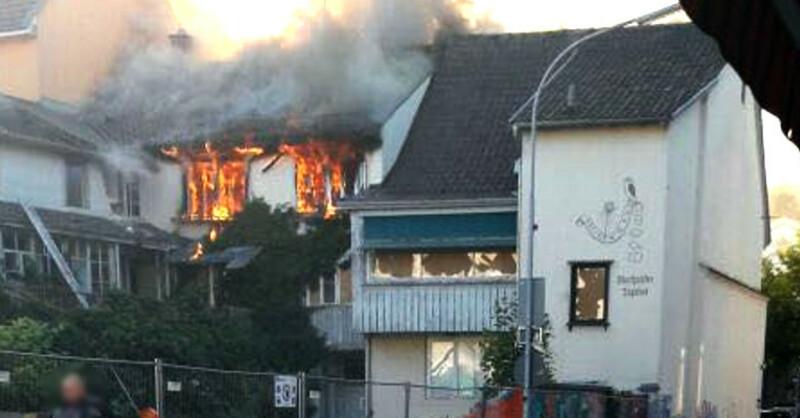 Feuer, Brand, Schopfheim, © baden.fm