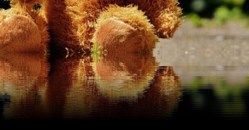 Teddybär, Kinder, Wasser, Badeunfall, © Pixabay (Symbolbild)