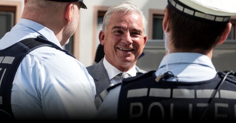 Polizei, Freiburg, Innenminister, Thomas Strobl, © Patrick Seeger - dpa