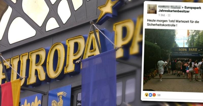 Europa-Park, Rust, Sicherheit, Einlass, Wartezeit, © baden.fm