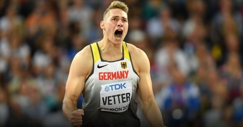 Johannes Vetter, Speerwurf, Weltmeisterschaft, © Bernd Thissen - dpa