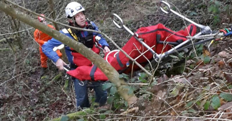 Bergwacht, DRK, Rettung, Schwarzwald, Unfall, © Polizei (Symbolbild)