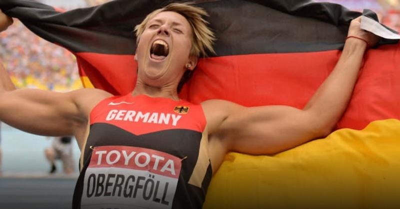 Christina Obergföll, Speerwerferin, Speerwurf, Weltmeisterschaft, © dpa