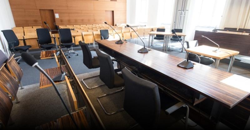 Landgericht Freiburg, Justiz, Gericht, Verhandlung, © Patrick Seeger - dpa (Symbolbild)