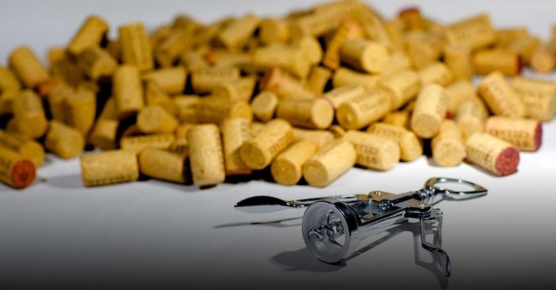 Korken, Wein, Korkenzieher, © Pixabay (Symbolbild)