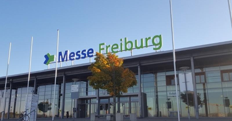 Messe, Freiburg, FWTM, Messe Gelände, Haupteingang