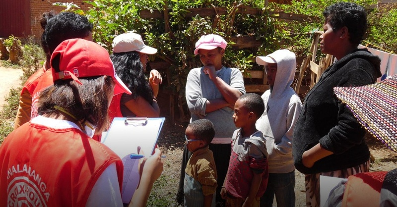 Lungenpest, Madagaskar, Deutsches Rotes Kreuz, © Madagassisches Rotes Kreuz / IFRK