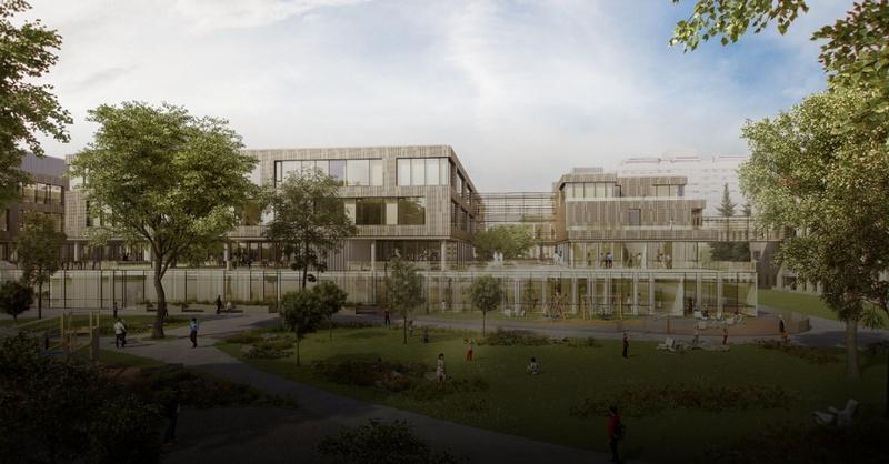 Uniklinikum, Freiburg, Zentrum für Kinder- und Jugendmedizin, Neubau, Beispielbild, © Health Team Vienna