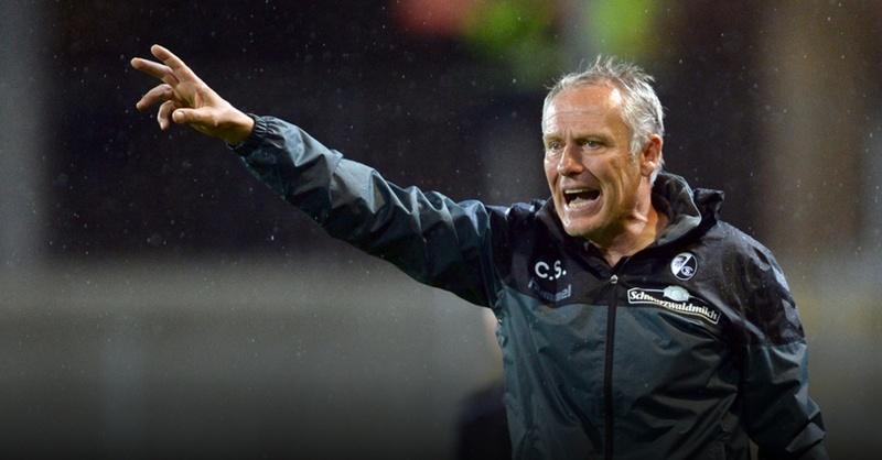 SC Freiburg, Christian Streich, Trainer, © Patrick Seeger - dpa (Symbolbild)